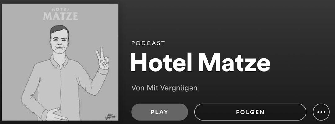 Stapelfux hat gehört: Hotel Matze